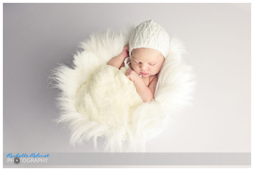 Meet Claire at 7 days new | Newborn Photographer Point Cook-Melbourne